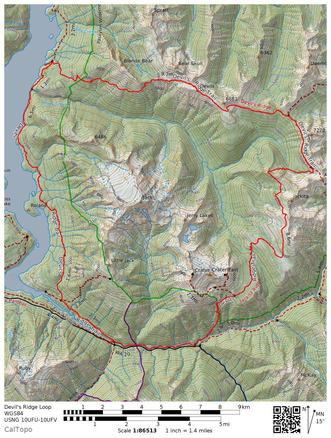 Devils Ridge Loop